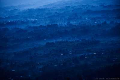 The beauty of Rwanda's landscape contrasts with the horror that happened in these hills.  				April 2014 marked the twentieth anniversary of the Rwandan genocide.