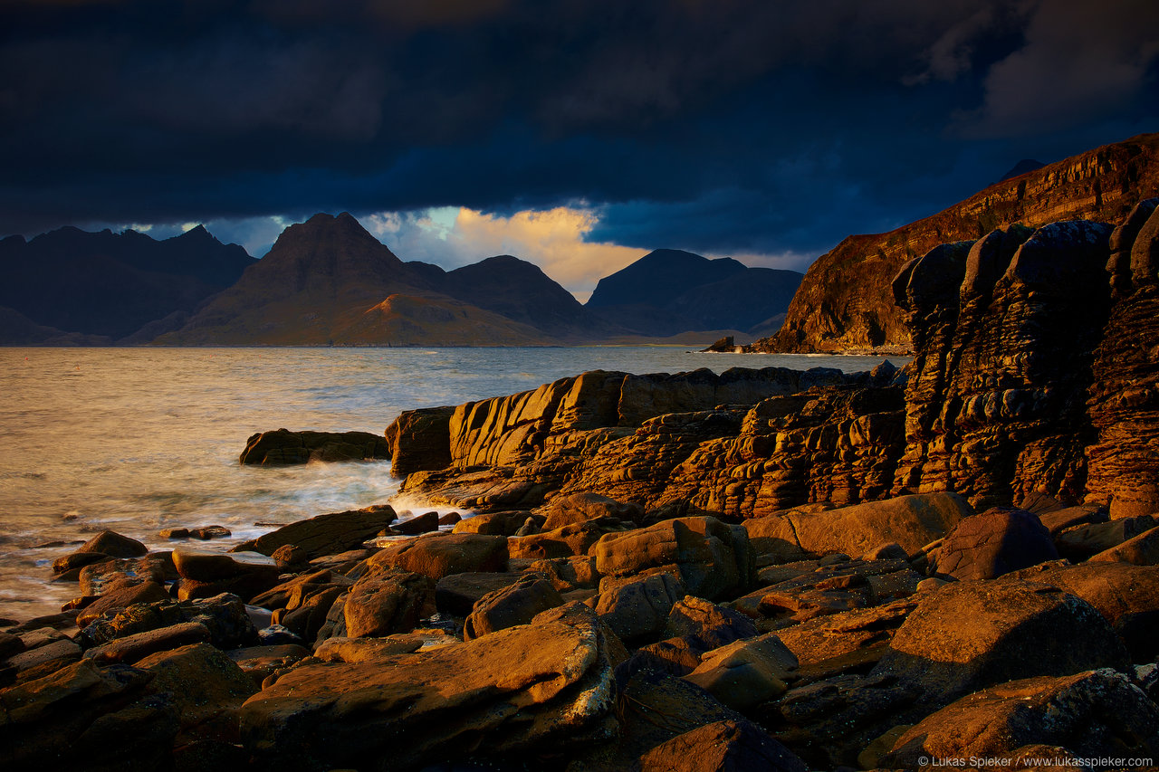 Sunset in Elgol, Skye